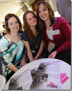 Nicky Trevorrow, Behaviour Manager at Cats Protection, left, with Lauren Finka, IFCW/COAPE scholar at the University of Lincoln and Kerry Westwood, RSPCA Scientific Officer for Companion Animals RSPCA
