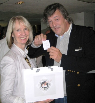 Pollyanna and Stephen Fry