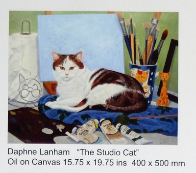 The Studio Cat by Daphne Lanham