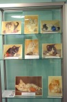 Yate Library  Left Glass Cabinet Display