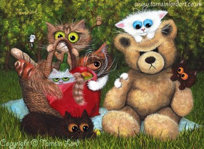 Teddy Bear Picnic Takeover! Tamsin Lord