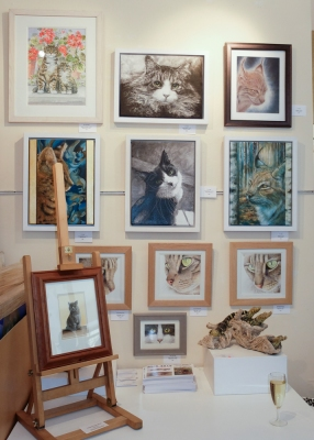 The Society Of Feline Artists London Show 2016
