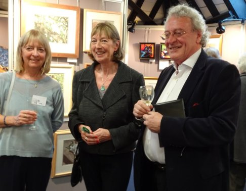 Our chairman Kay Young with Heather McCann, Chair of the Board of Trustees and Peter Bayless Winner of BBC's MasterChef 2006