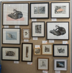Society of feline artists show 2017