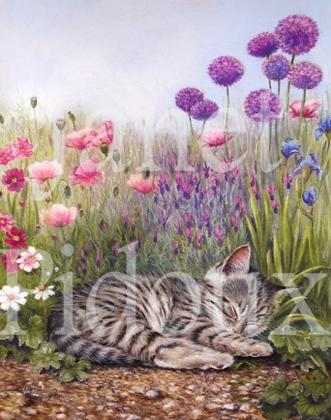 Asleep In The Flowers