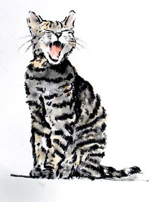 Yowling Cat