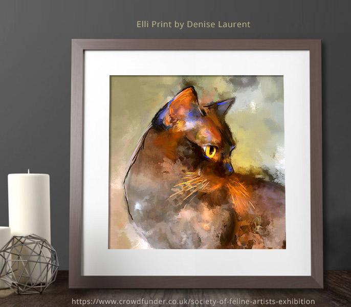 Elli print by Denise Laurent