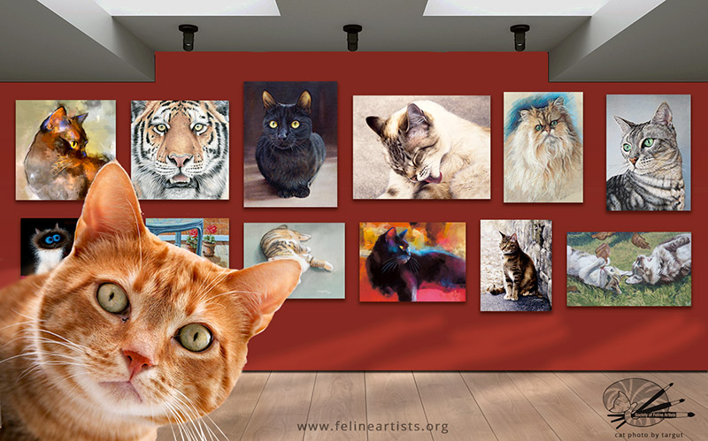 society of feline artists crowdfunding smaller