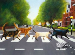 Denise Laurent - The Abbey Road Cats