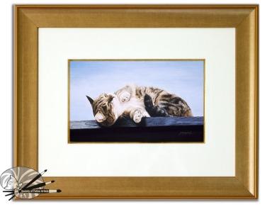 Jacqueline Gaylard-A Perfect Day-Acrylic on Board-Framed £1150