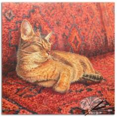 Sarais Crawshaw-Sitting Pretty-Acrylic on Board-450