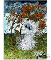 Tamsin Lord - Blustery Days - Gou on Pap - £290