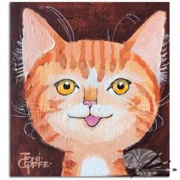 Toni Goffe-Happy Me -acrylic on board-150