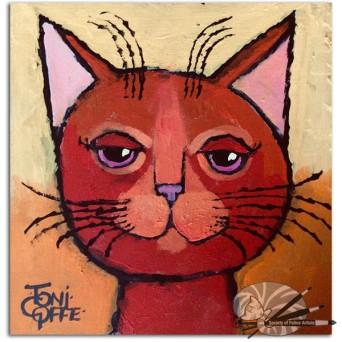 Toni Goffe-Mediterranean Mick-acrylic on board-150